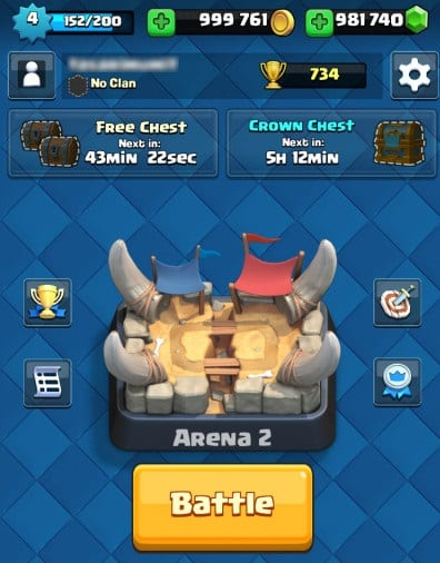 Clash Royale Gold und Juwelen Hack