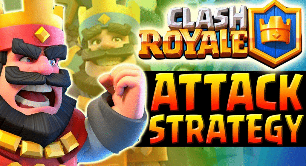 Clash royale strategie